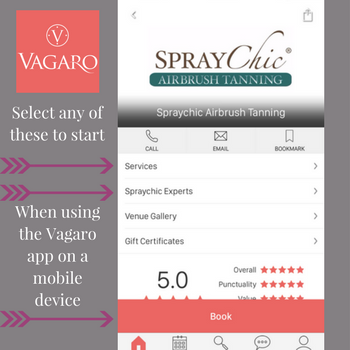 Vagaro app instructions