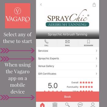 Vagaro app instructions