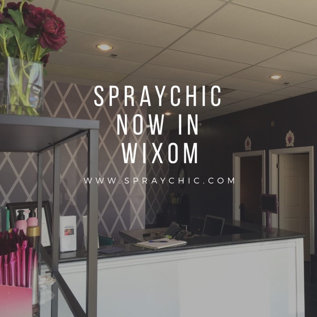 SprayChic new location in Wixom
